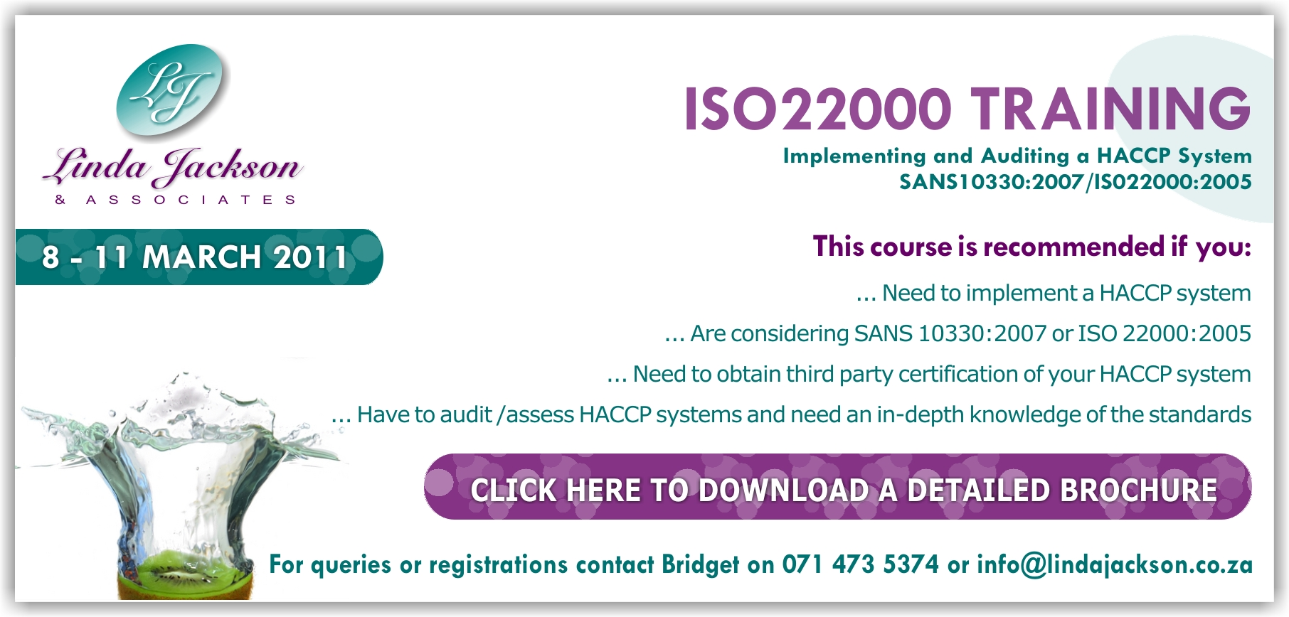 iso22000 ad march2011